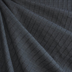 Woven Shirting Dobby Stripe Espresso SY - Selvage Yard - Style Maker Fabrics