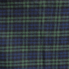 Cozy Cotton Flannel Watch Plaid Navy/Hunter SY - Sold Out - Style Maker Fabrics