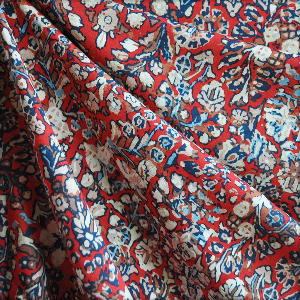 Treasured Heritage Rayon Saffron - Sold Out - Style Maker Fabrics