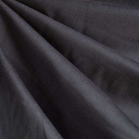 Classic Mid Wale Corduroy Solid Charcoal