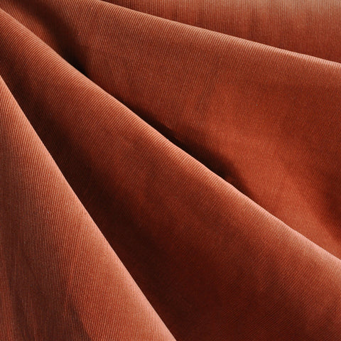 Pinwale Corduroy Shirting Rust