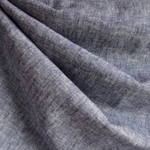 Brussels Washer Yarn Dye Linen Blend Denim