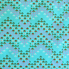 Soul Mate Prismatic Poplin Seafoam SY - Sold Out - Style Maker Fabrics