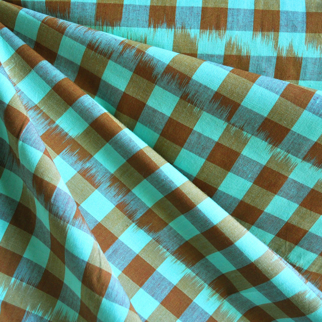 Loominous Shirting Checkered Field SY - Sold Out - Style Maker Fabrics