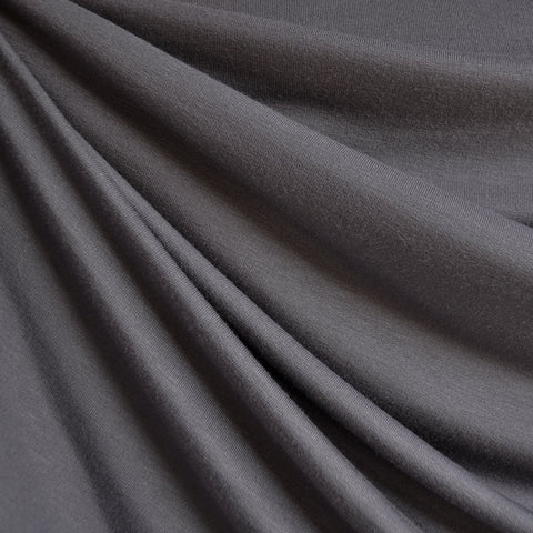 French Terry Solid Slate Grey