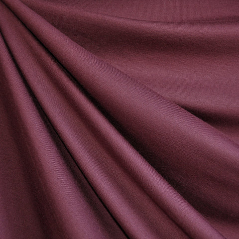 Jersey French Terry Solid Maroon