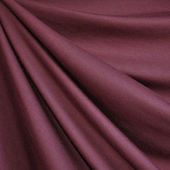 Jersey French Terry Solid Maroon - Sold Out - Style Maker Fabrics
