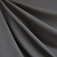 Designer Ponte Knit Solid Steel Grey - Sold Out - Style Maker Fabrics