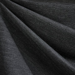 Italian Textured Double Knit Heather Charcoal - Fabric - Style Maker Fabrics