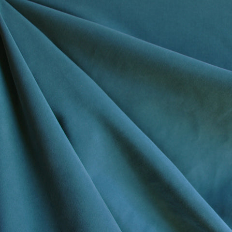 Sueded Modal Blend Shirting Teal