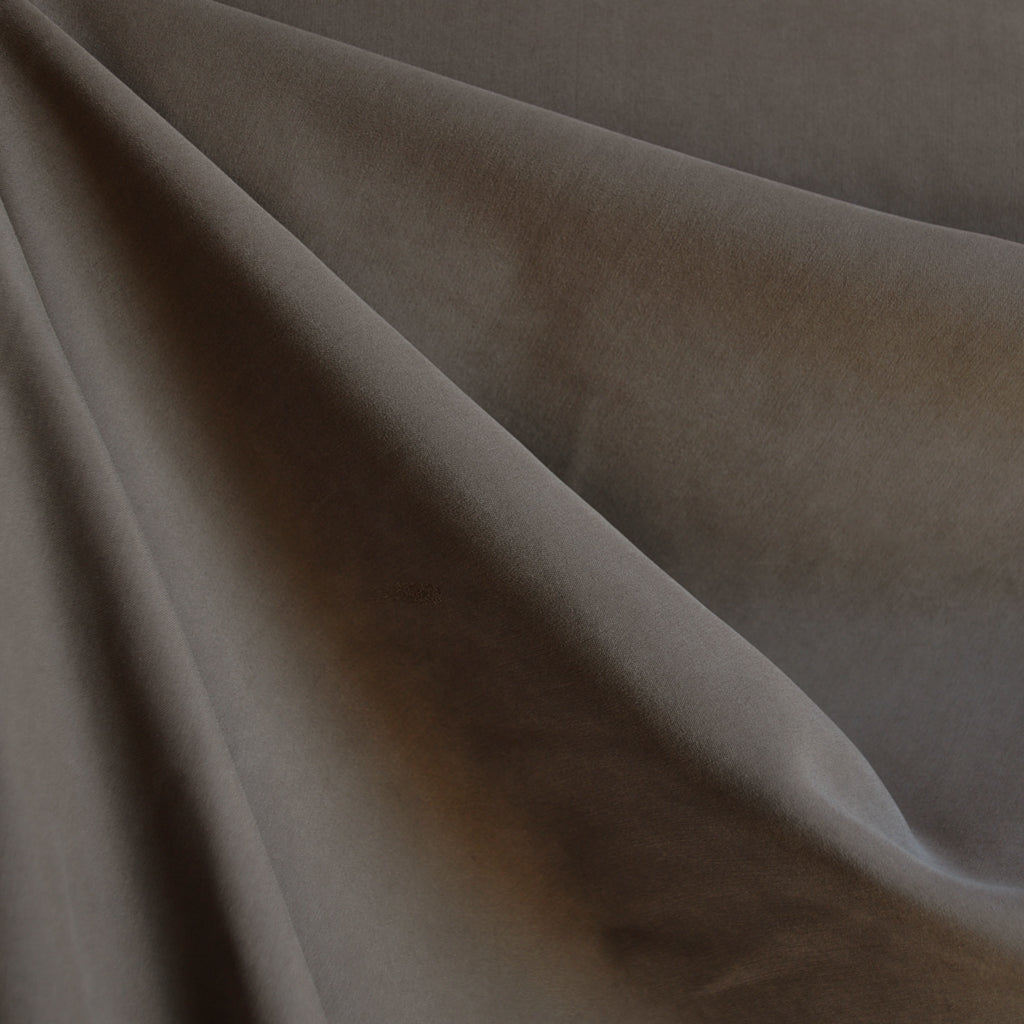 Sueded Modal Blend Shirting Mocha - Fabric - Style Maker Fabrics