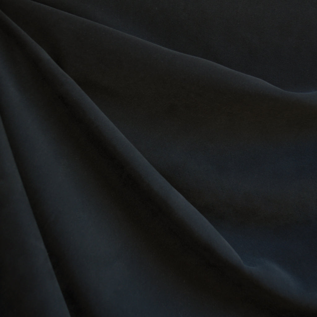 Sueded Modal Blend Shirting Black - Fabric - Style Maker Fabrics