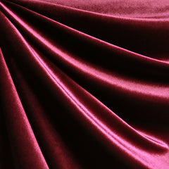 Stretch Velvet Solid Magenta - Fabric - Style Maker Fabrics
