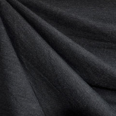 Brushed Ponte Knit Solid Charcoal - Sold Out - Style Maker Fabrics
