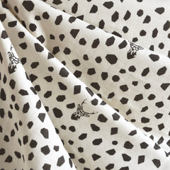 Japanese Echino Double Gauze Spot the Deer Cream SY - Sold Out - Style Maker Fabrics