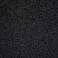 Boiled Wool Blend Coating Black SY - Sold Out - Style Maker Fabrics