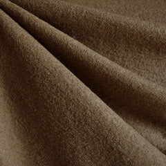 Boiled Wool Blend Coating Sepia - Fabric - Style Maker Fabrics