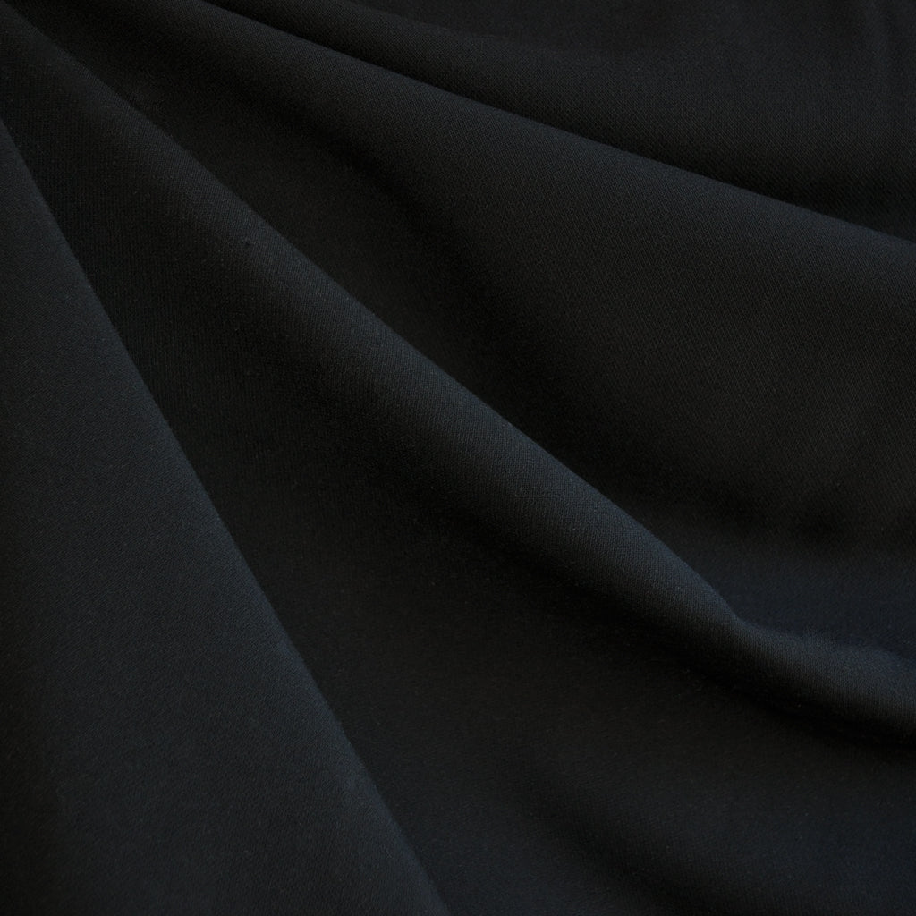 Stretch Double Twill Suiting Black - Sold Out - Style Maker Fabrics