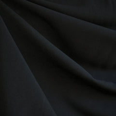 Suiting Solid Black - Fabric - Style Maker Fabrics