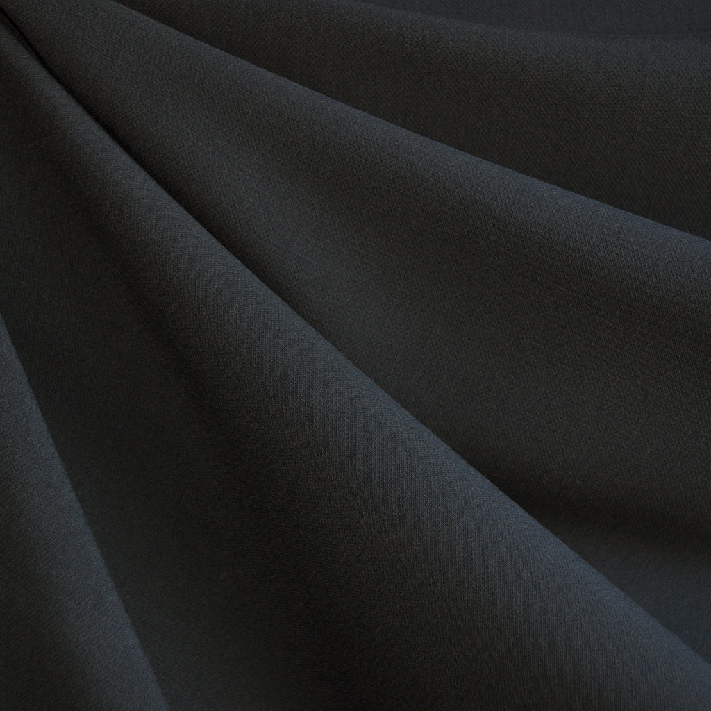 Stretch Double Twill Suiting Charcoal - Sold Out - Style Maker Fabrics