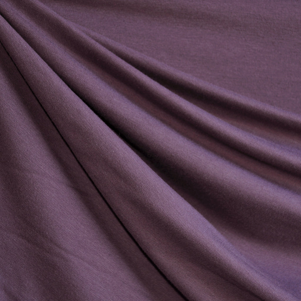 Bamboo Jersey French Terry Violet SY - Sold Out - Style Maker Fabrics
