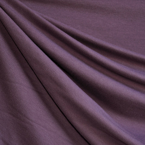 Bamboo Jersey French Terry Violet