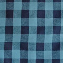 Carolina Gingham Shirting Navy/Indigo SY - Selvage Yard - Style Maker Fabrics