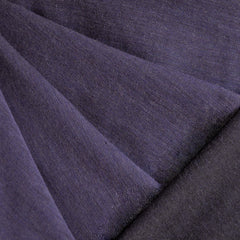 Cross Weave Flannel Solid Purple/Black - Fabric - Style Maker Fabrics