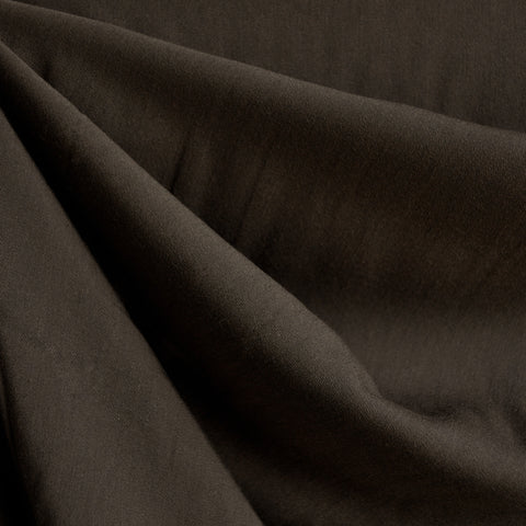 Soft Tencel Twill Solid Chocolate