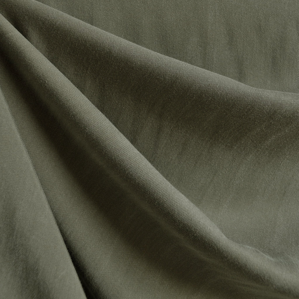 Soft Tencel Twill Solid Olive - Sold Out - Style Maker Fabrics