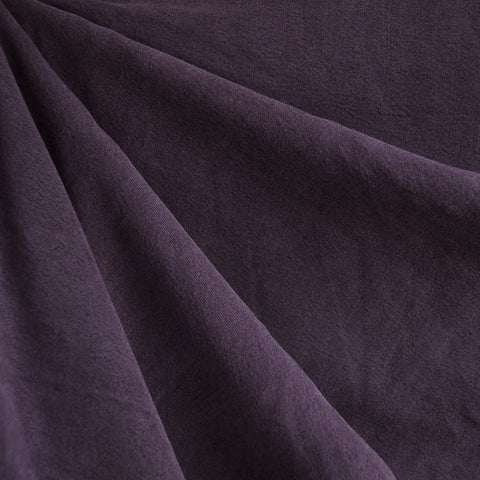 Soft Tencel Twill Solid Aubergine