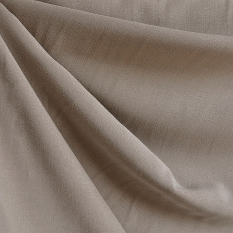 Soft Tencel Twill Solid Taupe