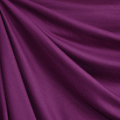 Designer Modal Jersey Solid Plum - Sold Out - Style Maker Fabrics