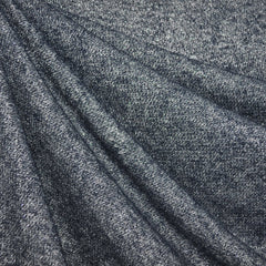 Metallic French Terry Denim - Sold Out - Style Maker Fabrics