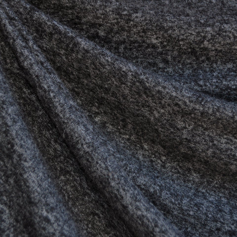 Brushed Sweater Knit Heather Charcoal