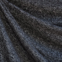 Brushed Sweater Knit Heather Charcoal - Sold Out - Style Maker Fabrics