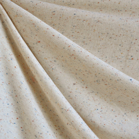 Autumn Confetti French Terry Cream SY