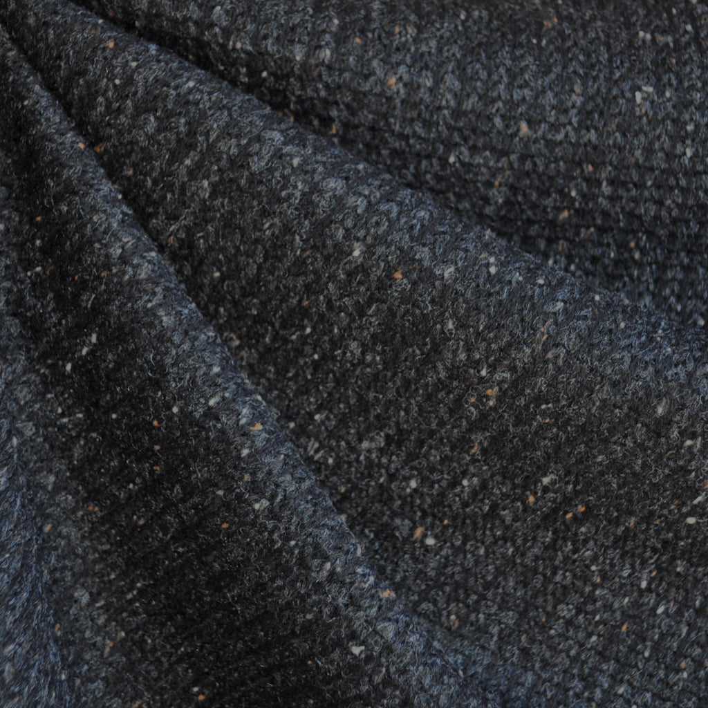 Loose Sweater Knit Speckle Charcoal SY - Sold Out - Style Maker Fabrics