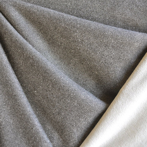 Stretch Velour Solid Taupe/Cream
