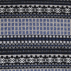 Nordic Stripe Double Knit Navy/Multi - Sold Out - Style Maker Fabrics