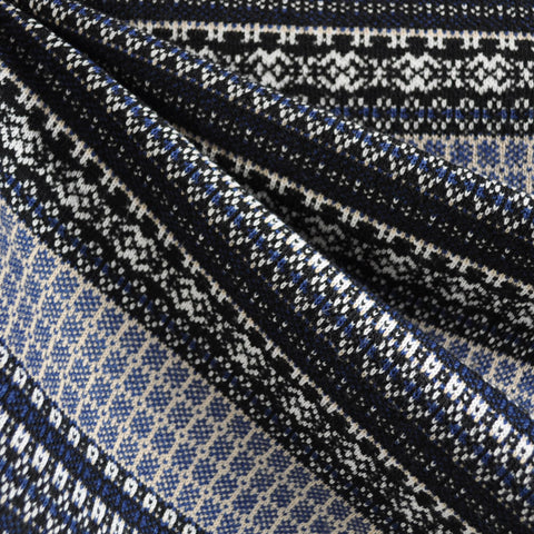 Nordic Stripe Double Knit Navy/Multi