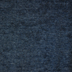 Terry Velour Solid Navy - Fabric - Style Maker Fabrics