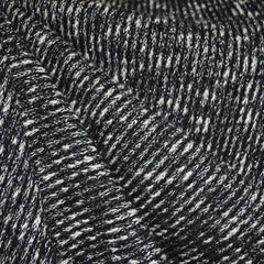 Metallic Sweater Knit Black/Silver SY - Sold Out - Style Maker Fabrics