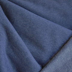 Sweatshirt Fleece Solid Denim Blue - Sold Out - Style Maker Fabrics