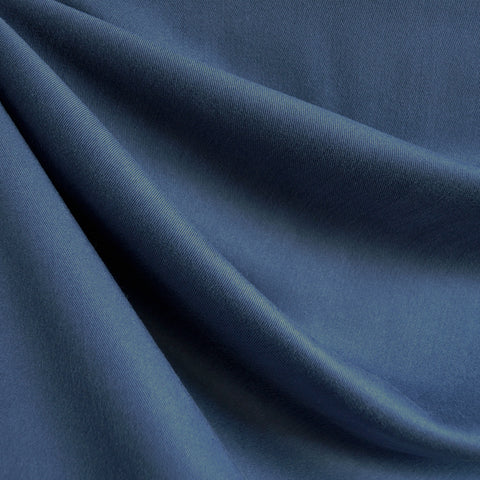 Soft Tencel Twill Solid Blue