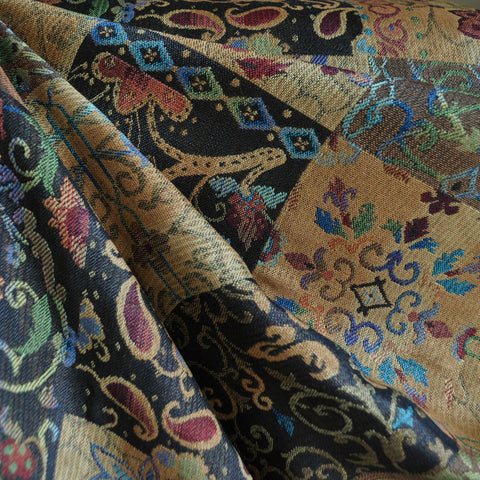 Autumn Patchwork Jacquard Multi