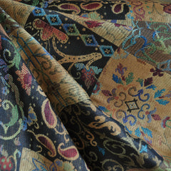 Autumn Patchwork Jacquard Multi - Sold Out - Style Maker Fabrics
