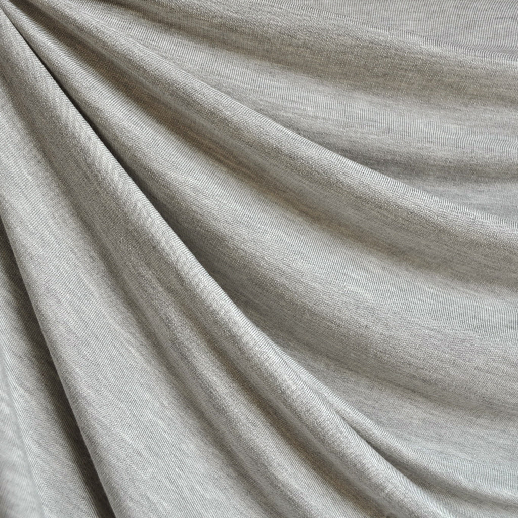 Soft Jersey French Terry Light Grey - Fabric - Style Maker Fabrics