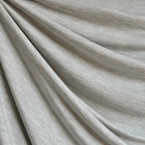 Soft Jersey French Terry Light Grey