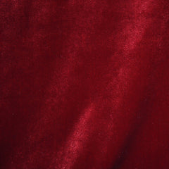 Stretch Velvet Solid Cardinal - Fabric - Style Maker Fabrics